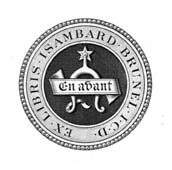 Two crest plates of Isambard Kingdom Brunel