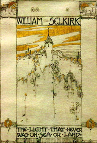 One of Jessie M. King's bookplates in our Autumn 2012 issue of The Bookplate Journal. Copies are available.